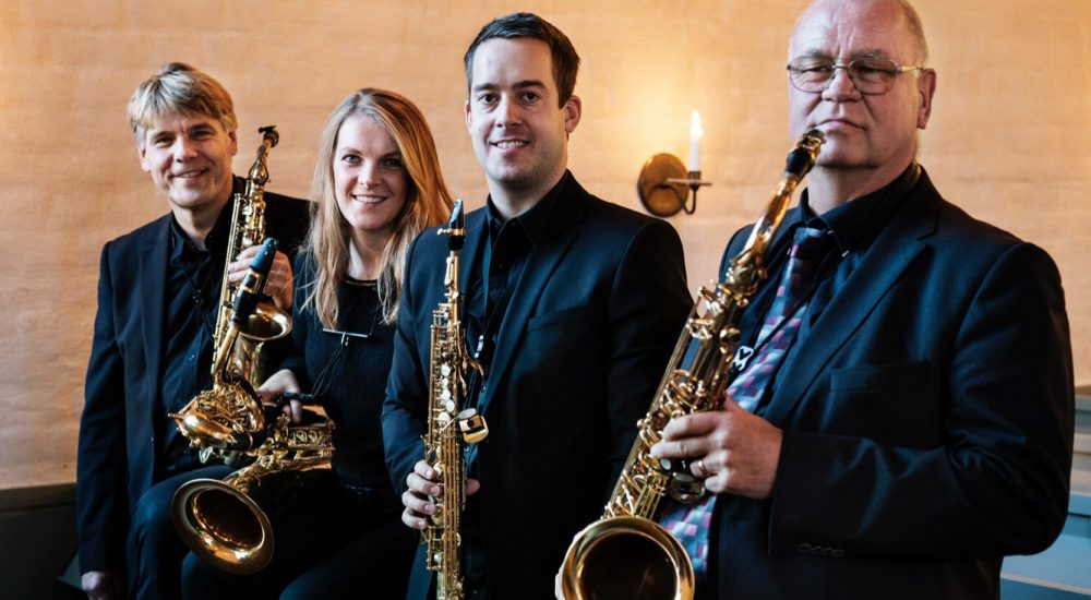 Stockoholm Saxophone Quartet Photo Hampus Andersson