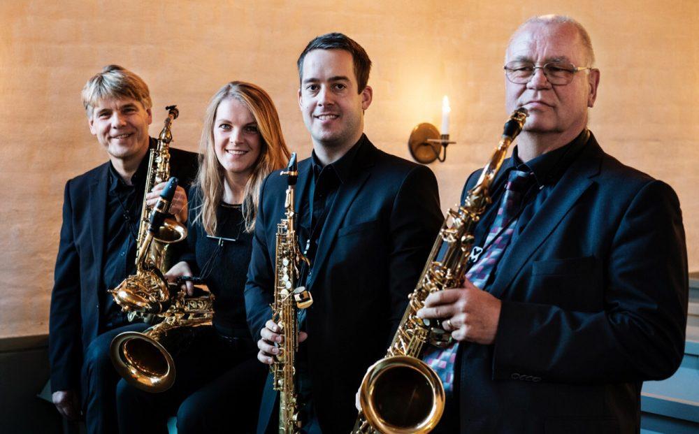 Stockoholm Saxophone Quartet Photo Hampus Andersson